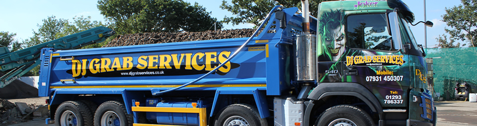 Grab Lorry Hire company vacancies in Gatwick Crawley West Sussex