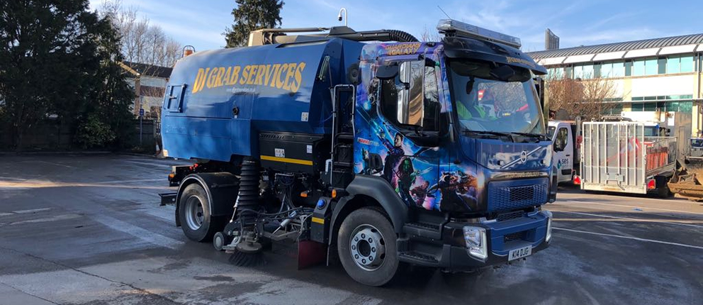 Road Sweeper hire for Surrey Sussex and London