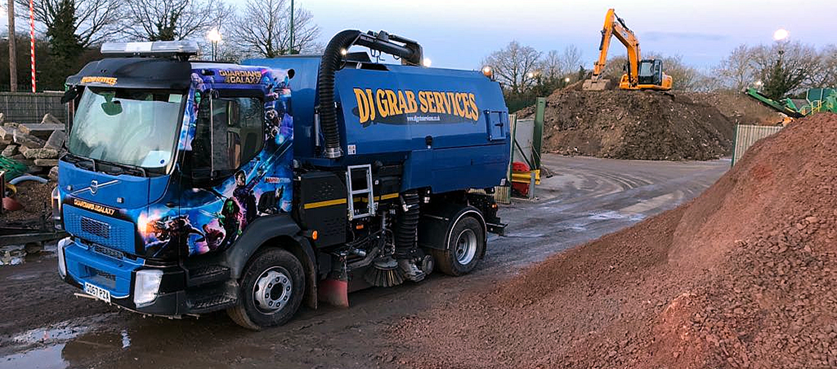Site Sweeper hire for London Surrey and Sussex