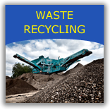 Waste recycling and waste audits